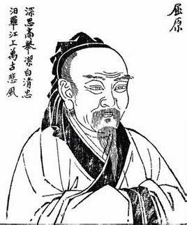 古代诗人张籍简笔画