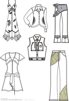 折叠衣服的简笔画法步骤