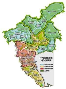 广州中大地图手绘