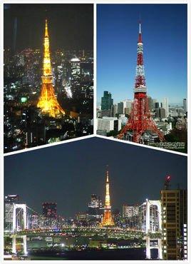 東京高處建筑風景夜景