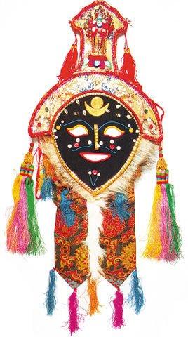 代表人物为曹操 黄色面具