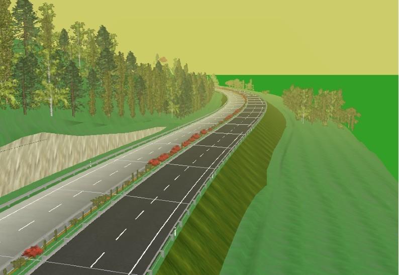 主要包括高速公路的设计控制