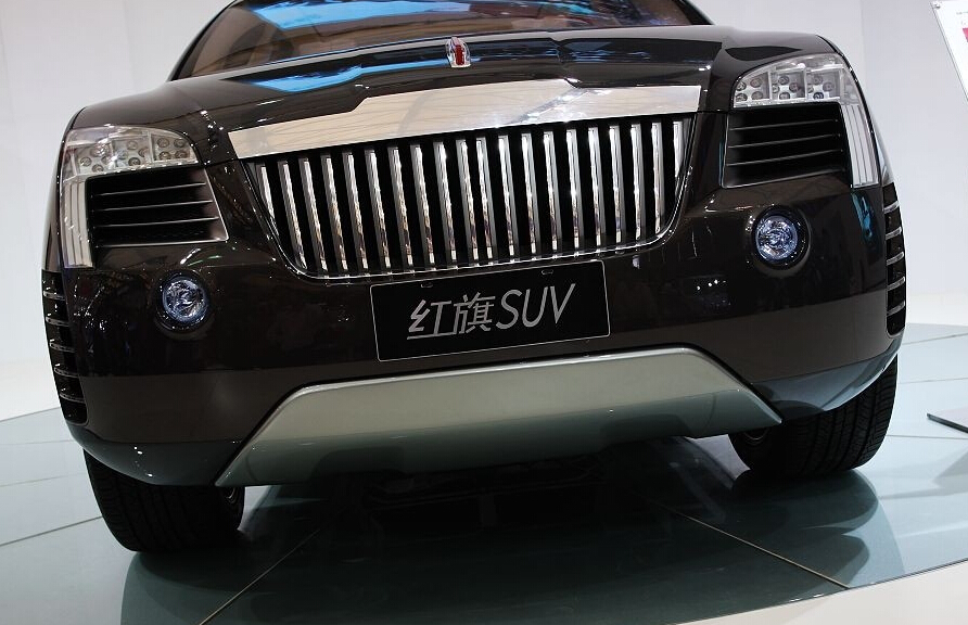 自动变速箱,四轮驱动模式,可调车高的悬架系统也成为红旗suv的实力型