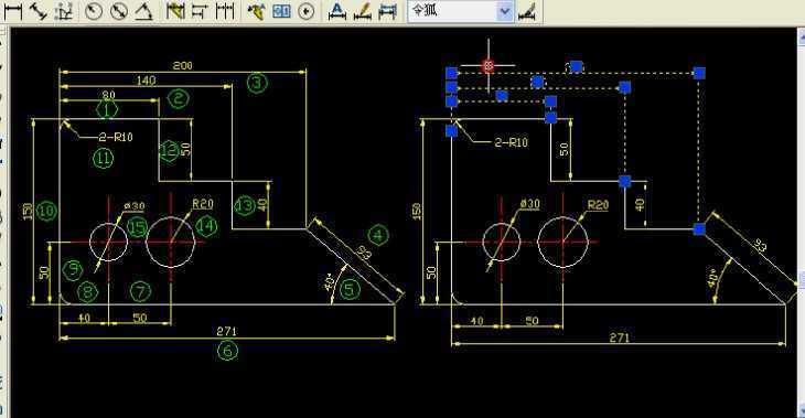 颜色通过绘图辅助工具设置绘图方式利用特性窗口编辑