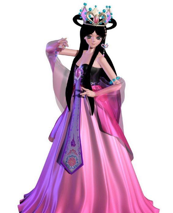 叶罗丽仙子,也是公主,从小受到良好的教育图片