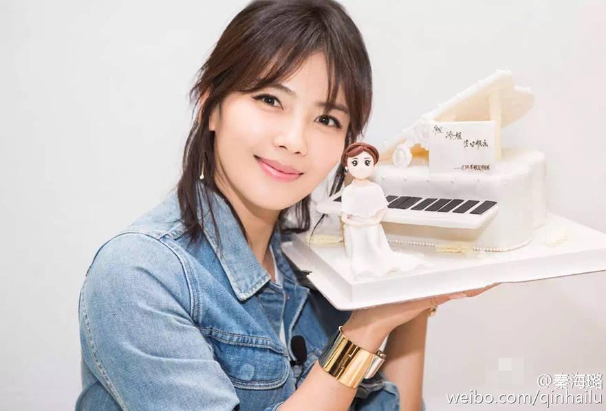 """刘涛38岁生日 """"关关""""晒欢乐颂五美合照 - 蔷薇花 - 蔷薇花"""