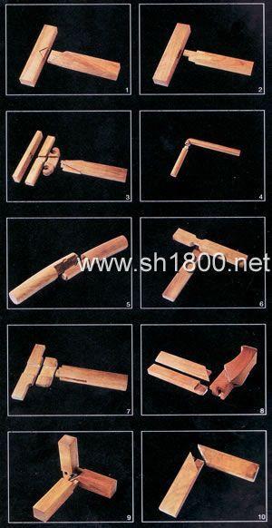 榫卯结构广泛用于建筑,同时也广泛用于家具,体现出家具与建筑的密切
