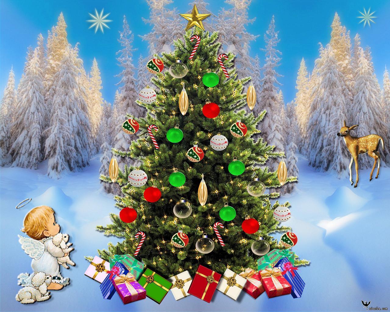 圣诞树可以说是圣诞节最重要的装饰点缀物.