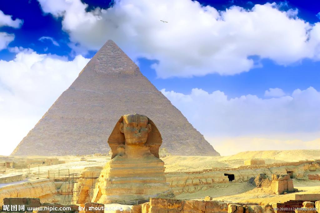 埃及金字塔设计图_自然风光