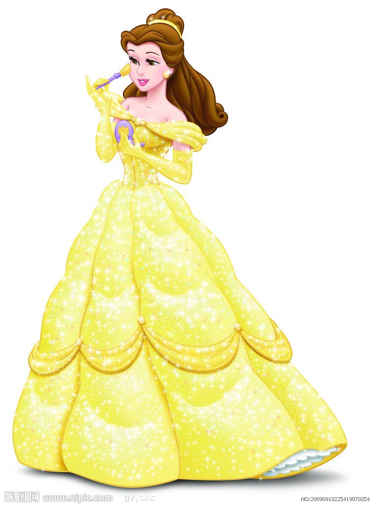 美丽公主仙女动漫人物