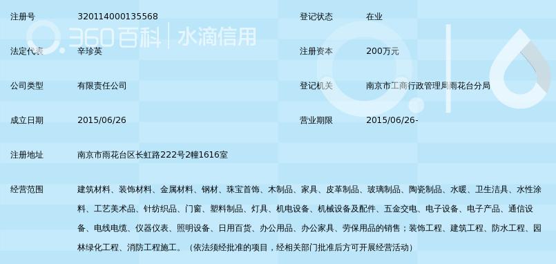 南京龙特建材贸易有限公司_360百科