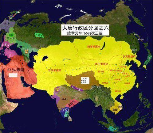 隋朝鲜半岛地图