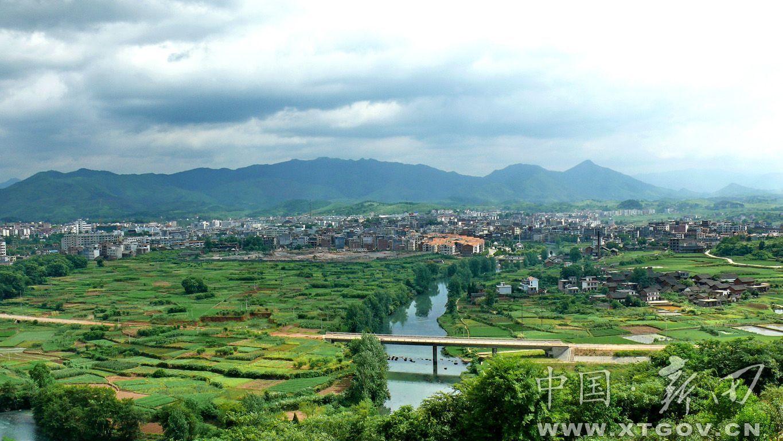 石道河镇风景