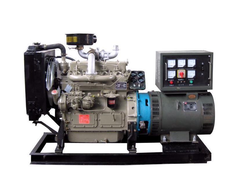 备用柴油发电机组结构
