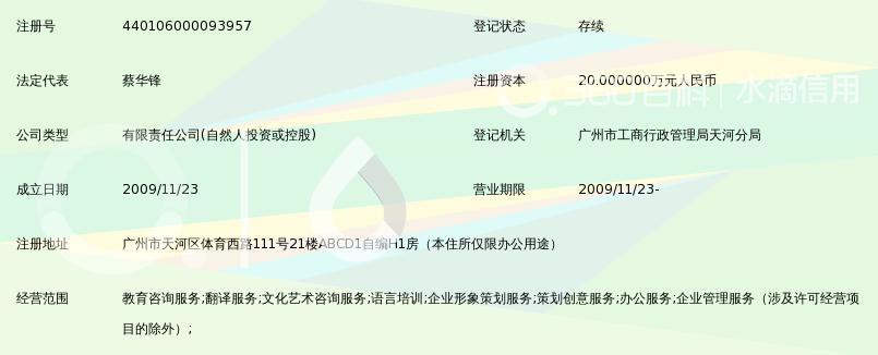 广州夏洛教育信息咨询有限公司_360百科