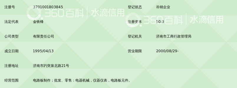 济南中天时代电路板制作有限公司_360百科