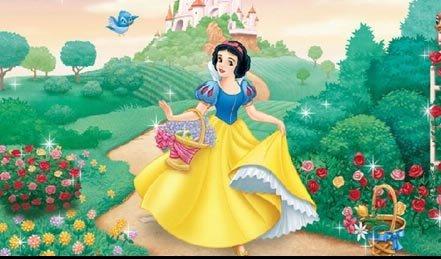 白雪公主是一个年轻美丽的小公主