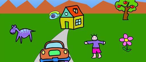 儿童填图 游戏介绍 儿童填图