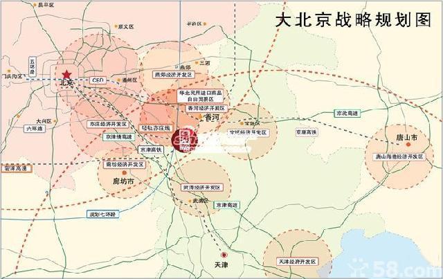 京唐高铁规划图 京唐城际铁路香河站 京唐高铁香河占地情况 京唐城际