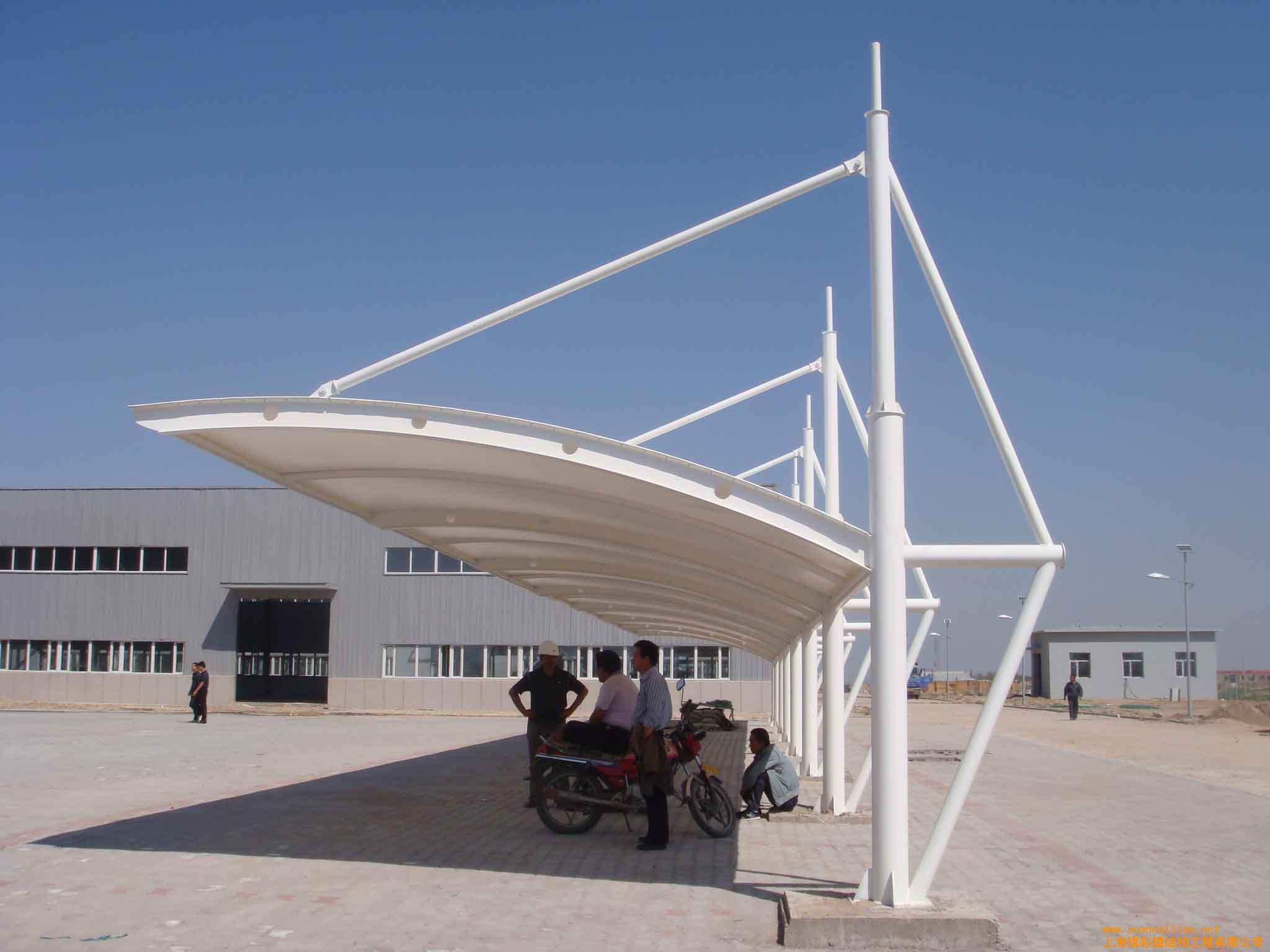 膜结构建筑是21世纪最具代表性与充满前途的建筑