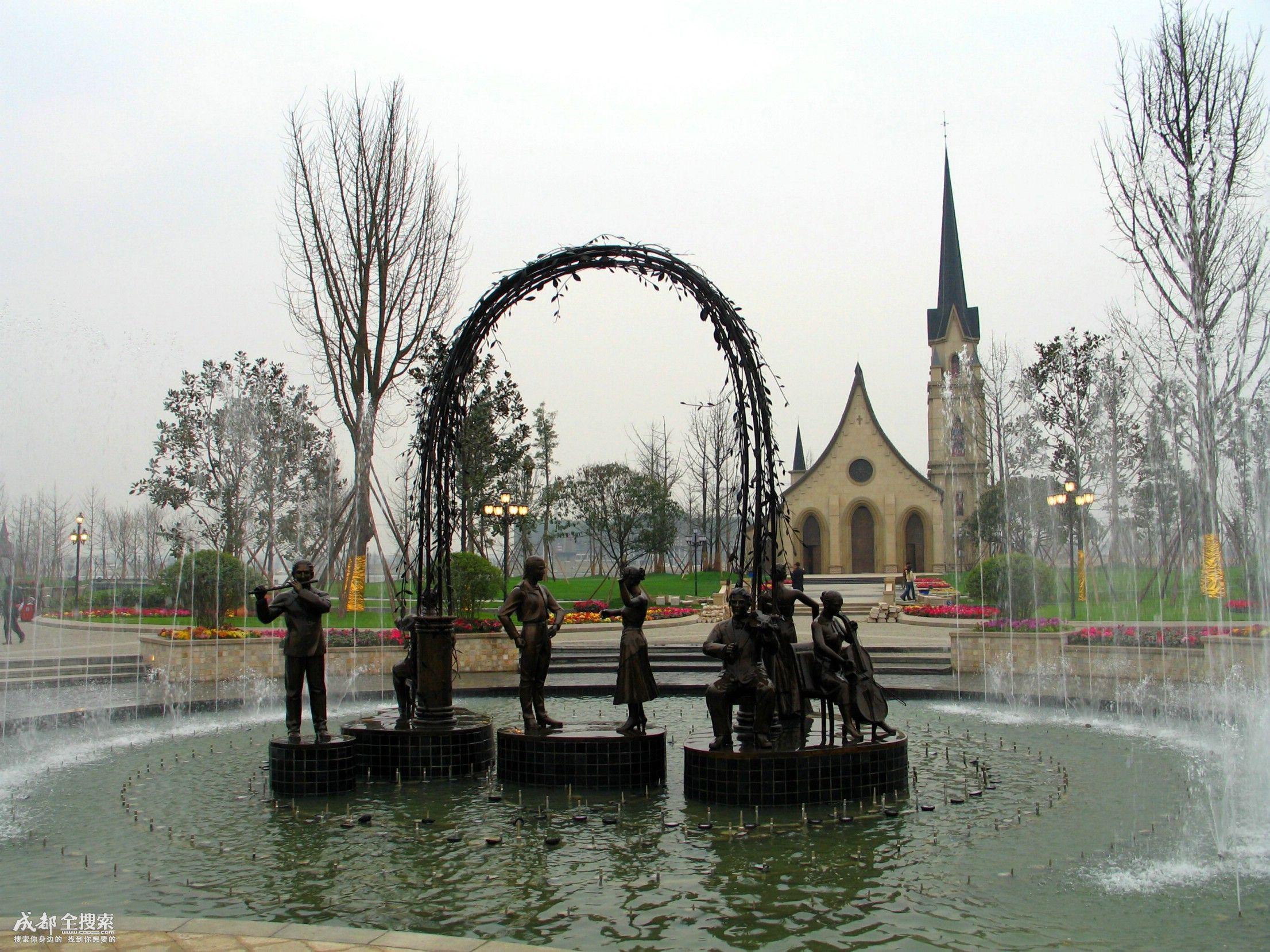 四川南湖度假风景区
