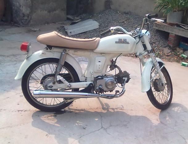 嘉陵70摩托车