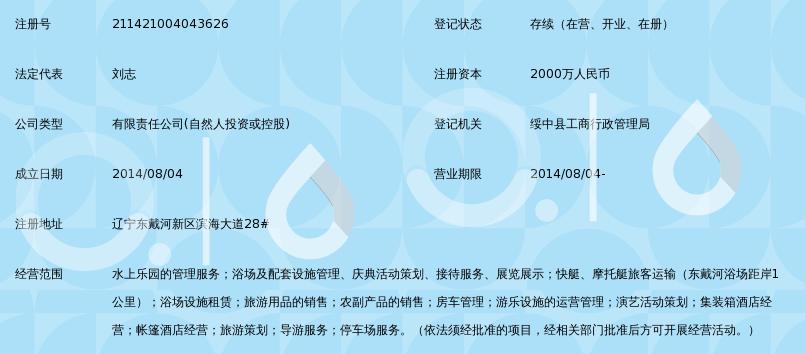 辽宁东戴河新区银泰水星海洋乐园有限公司_3
