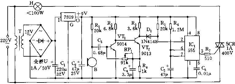 由音频放大器,选频电路