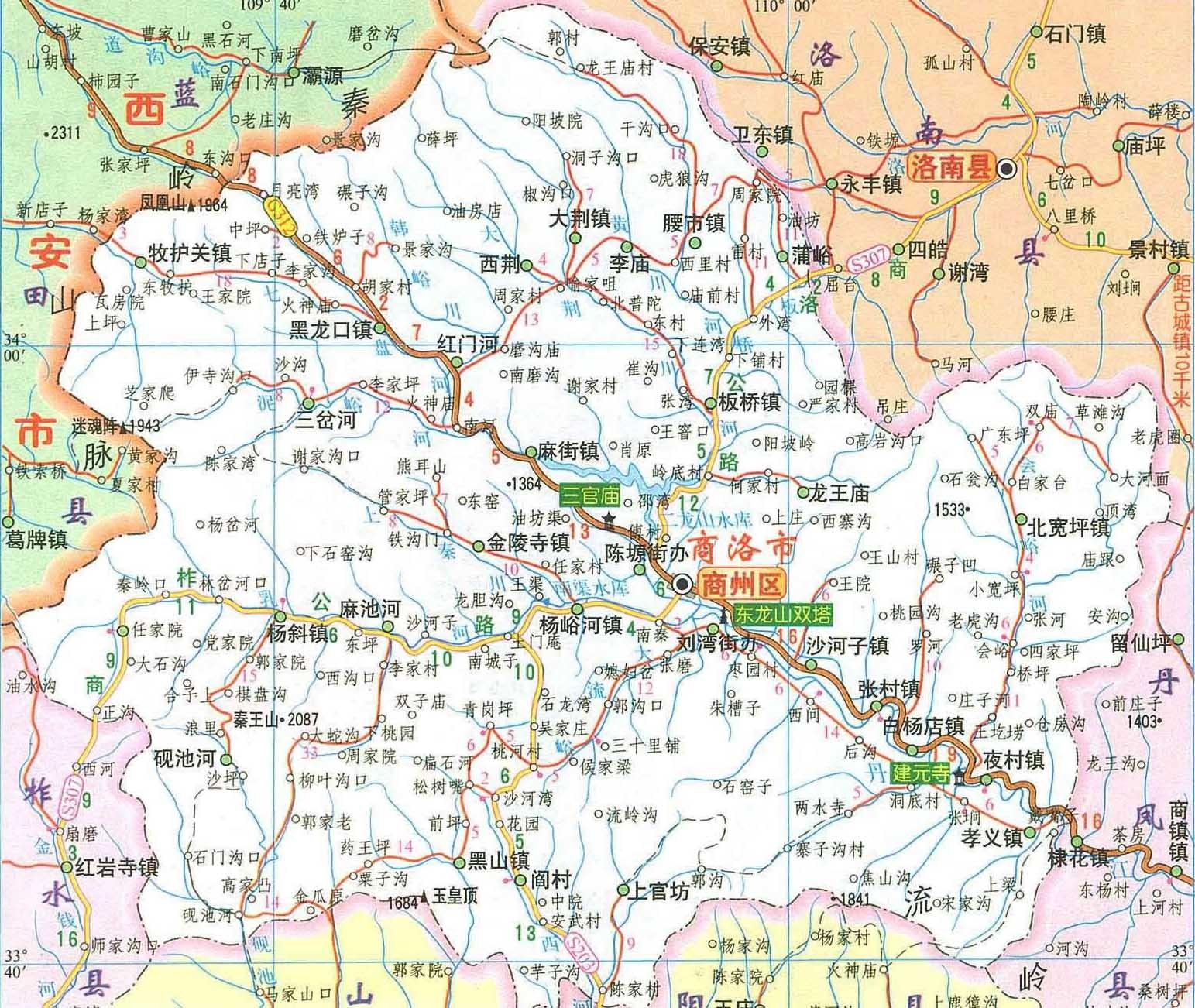 泗县黑塔镇地图