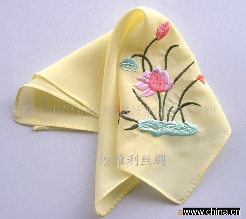 手帕折叠步骤图