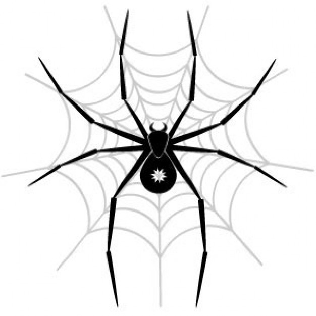 蜘蛛矢量图 | 下载免费矢量